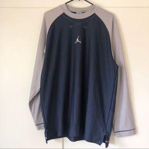 Men's Jordan Long Sleeve Athletic Shirt